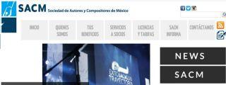 SACM Sociedad de Autores y Compositores de México